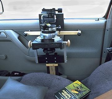 DIY Autoscheibenstativ fü schwere Videoneiger